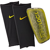 Nike Adult Mercurial Lite SuperLock Soccer Shin Guards