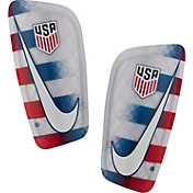 Nike Adult USA Mercurial Lite Soccer Shin Guards