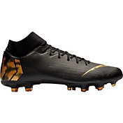finest selection 4d5d4 78f38 Product Image · Nike Mercurial Superfly 6 Academy FG Soccer Cleats · Black /Gold