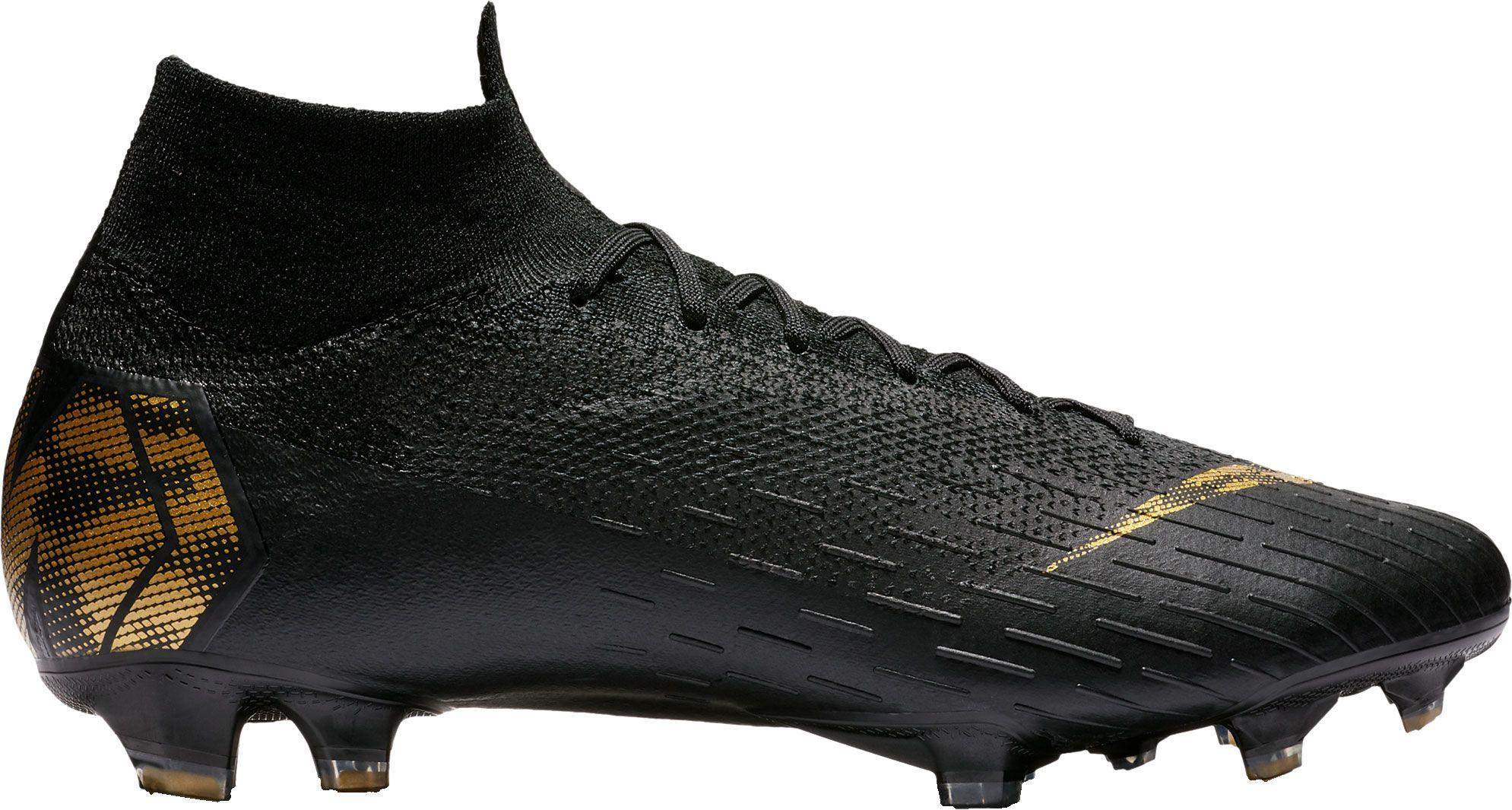 Nike Mercurial Superfly 360 Elite FG Soccer Cleats, Men's, Size: 4.5, Black