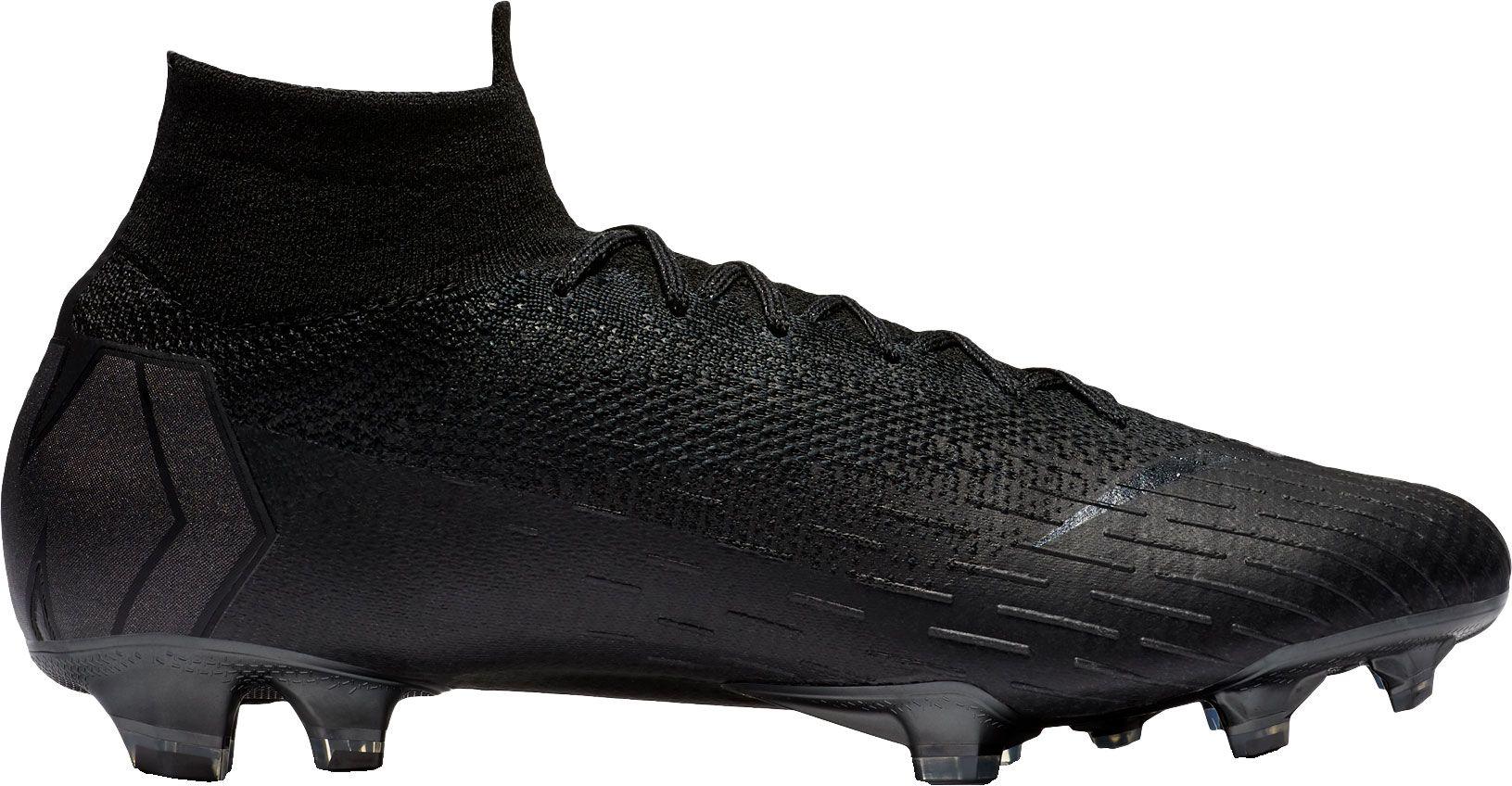 Nike Mercurial Superfly 360 Elite FG Soccer Cleats, Men's, Size: 8.0, Black