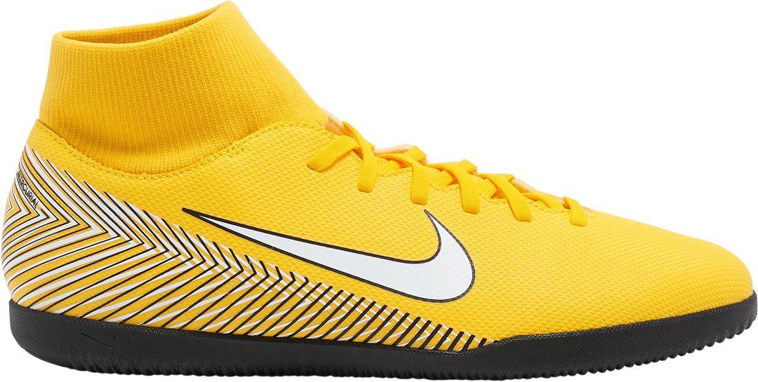 buy online cd843 7a1ef Nike MercurialX Superfly 6 Club Neymar Jr. Indoor Soccer Shoes