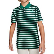 Nike Boys' Striped Dry Victory Golf Polo