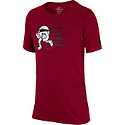 Nike Boys' Dry Lock Your Bases Graphic Tee