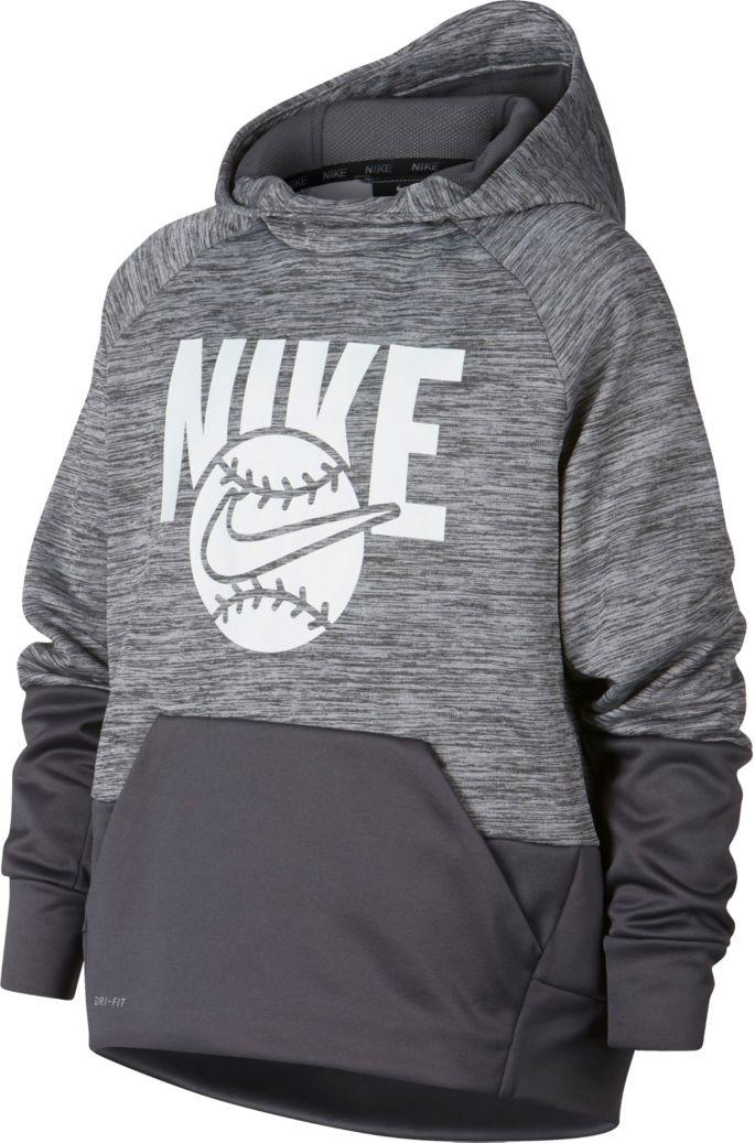Nike Boys' Baseball Pullover Hoodie