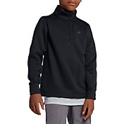 Nike Boys' Long Sleeve Thermal Half-Zip Golf Top