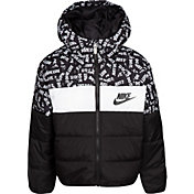 Nike Boys' Polyfill Blocked Insulated Puffer Jacket