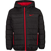 Nike Boys' Polyfill Quilted Insulated Puffer Jacket