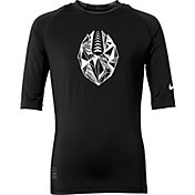 Nike Pro Boys' Half-Sleeve Football Compression Shirt