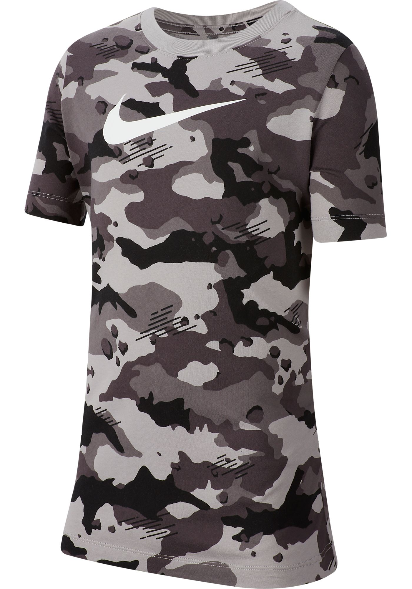 Nike Boys' Sportswear Camo Allover Print Graphic Tee