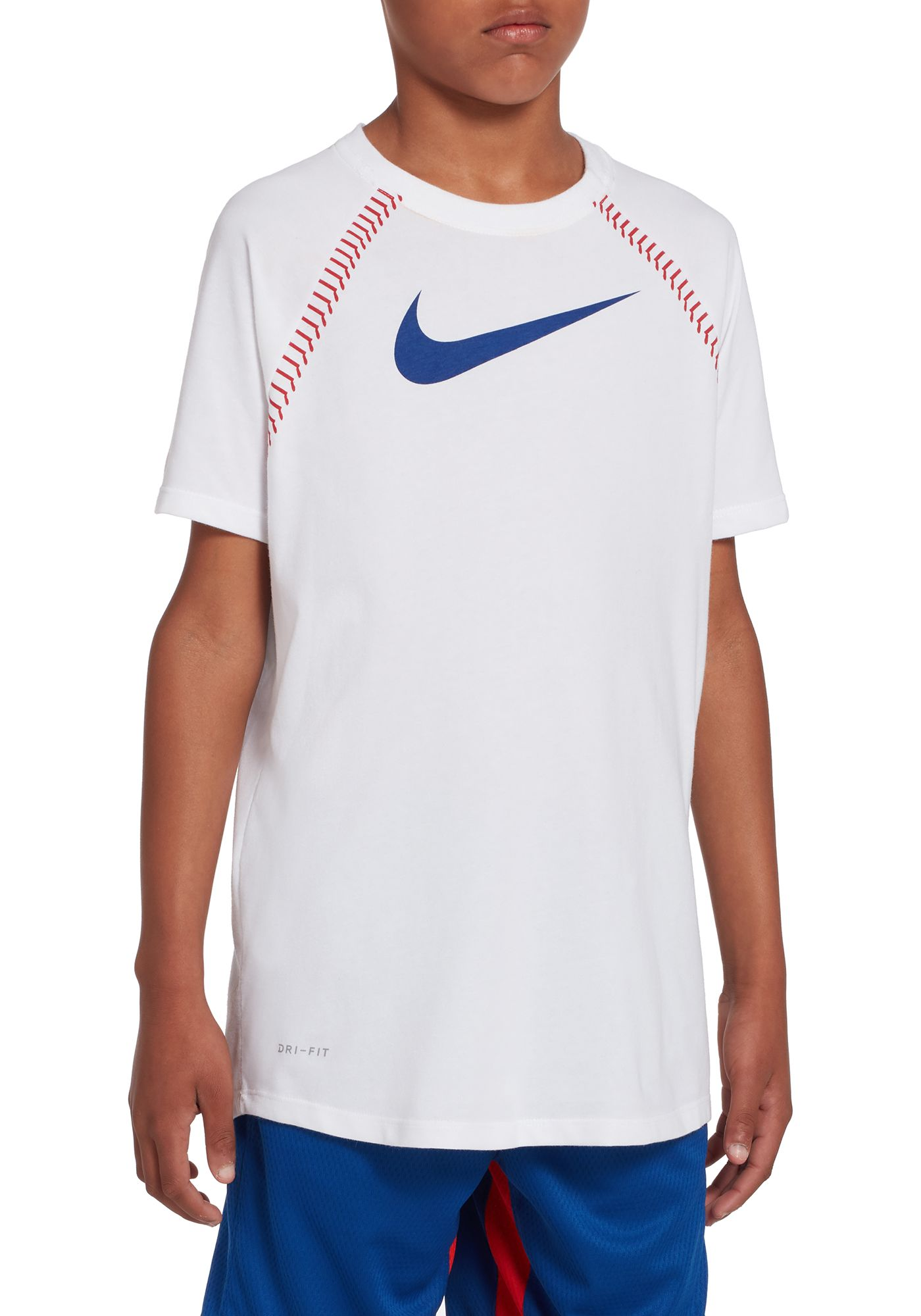 Nike Boys' Dri-FIT Raglan Graphic Tee