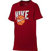 Nike Boys' Sportswear Basketball Graphic Tee