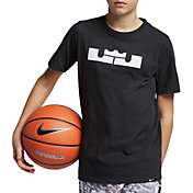 Nike Boys' Dri-FIT LBJ Crown Logo Graphic Tee