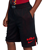 Nike Boys' Dry LBJ Graphic Basketball Shorts