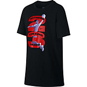 Nike Boys' Dry LBJ Number Graphic Tee