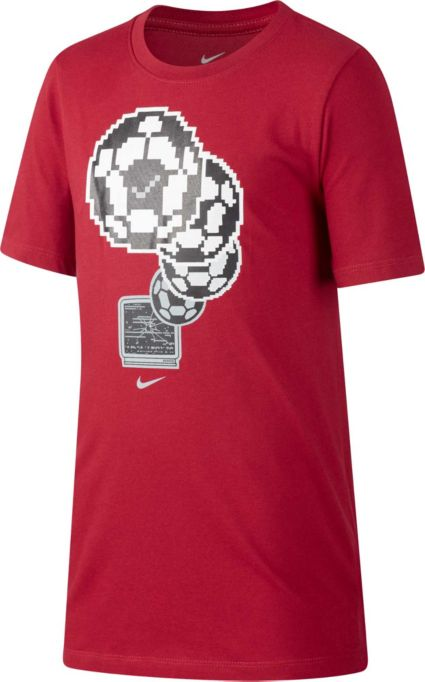 Nike Boys' Dry Soccer Pixel Graphic Tee