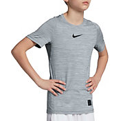 Nike Boys' Pro Heathered Comp Tee