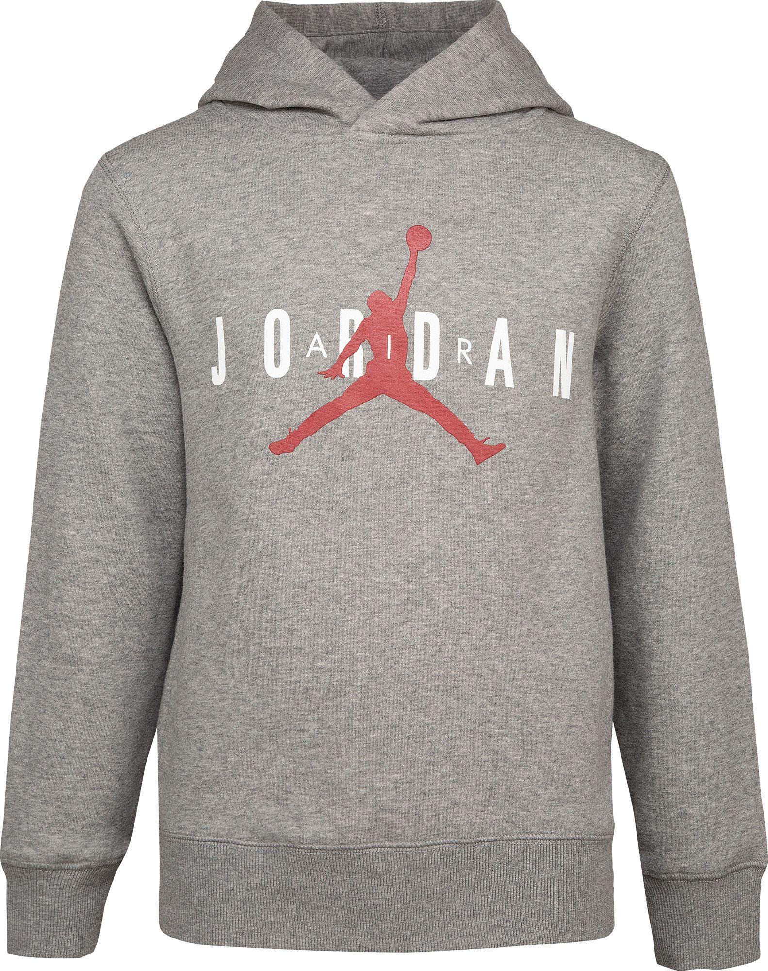 Jordan Boys' Air Fleece Hoodie   DICK'S Sporting