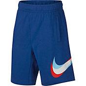 Nike Boys' Sportswear Jersey Logo Shorts