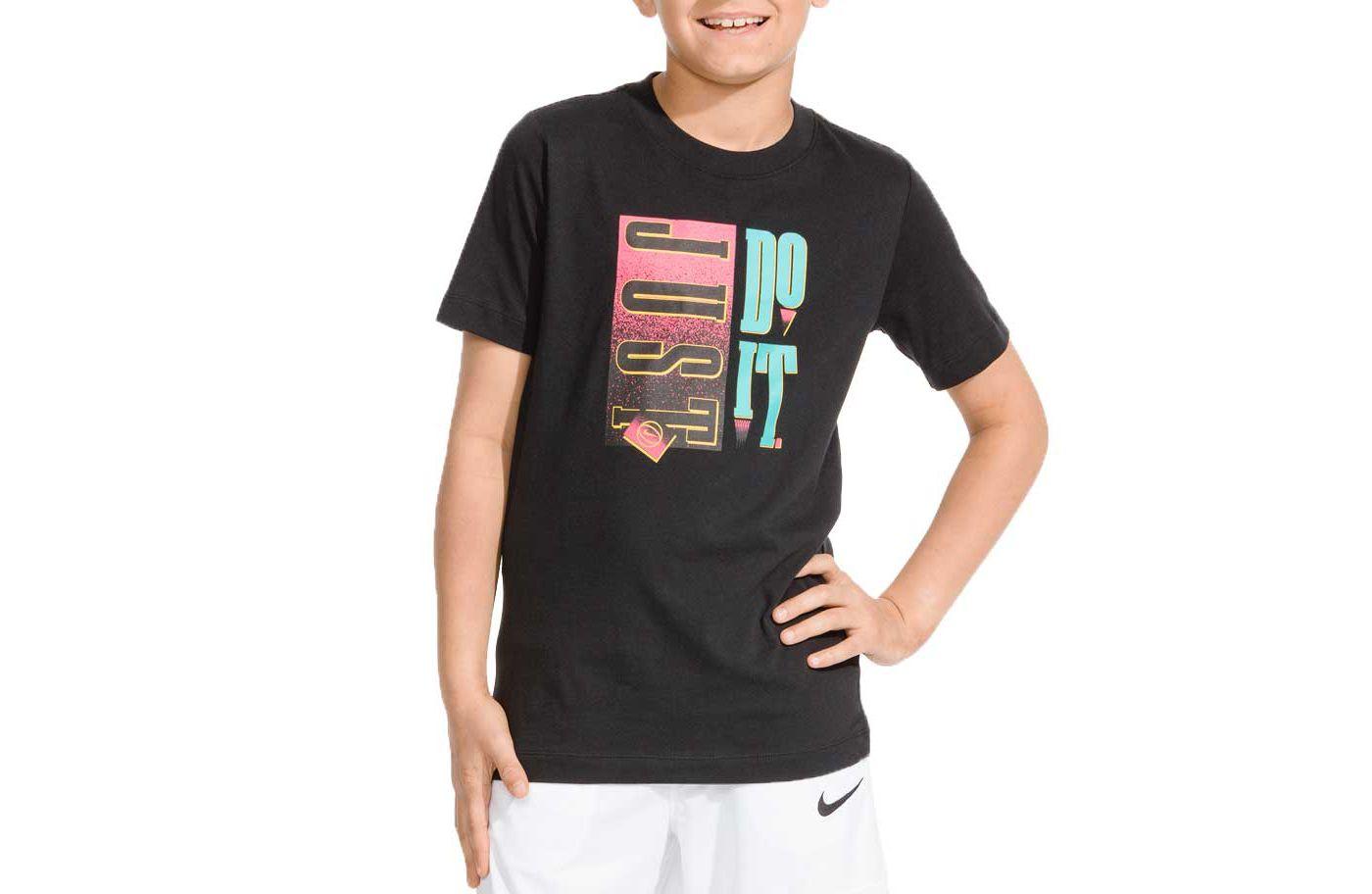 Nike Boys' Sportswear Just Do It Graphic Tee