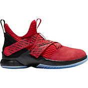 c02cdf7f84f8b Product Image · Nike Kids  Grade School LeBron Soldier XII Basketball Shoes.  Red Black