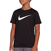 90a4159be13d Product Image Nike Boys  Legend Dri-FIT Graphic Tee · Black White ...