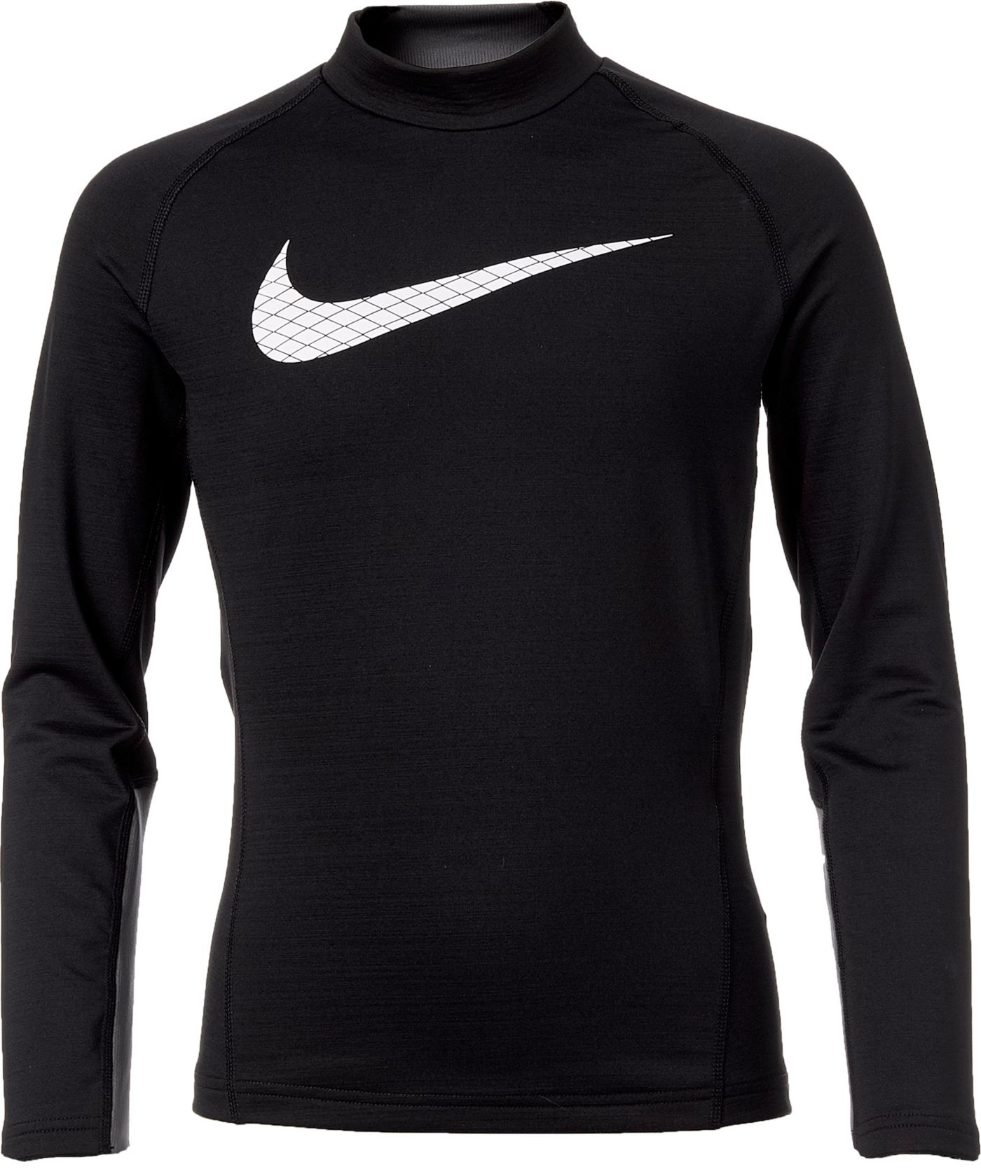 Nike Boys' Dri-FIT Mock Neck Compression Shirt