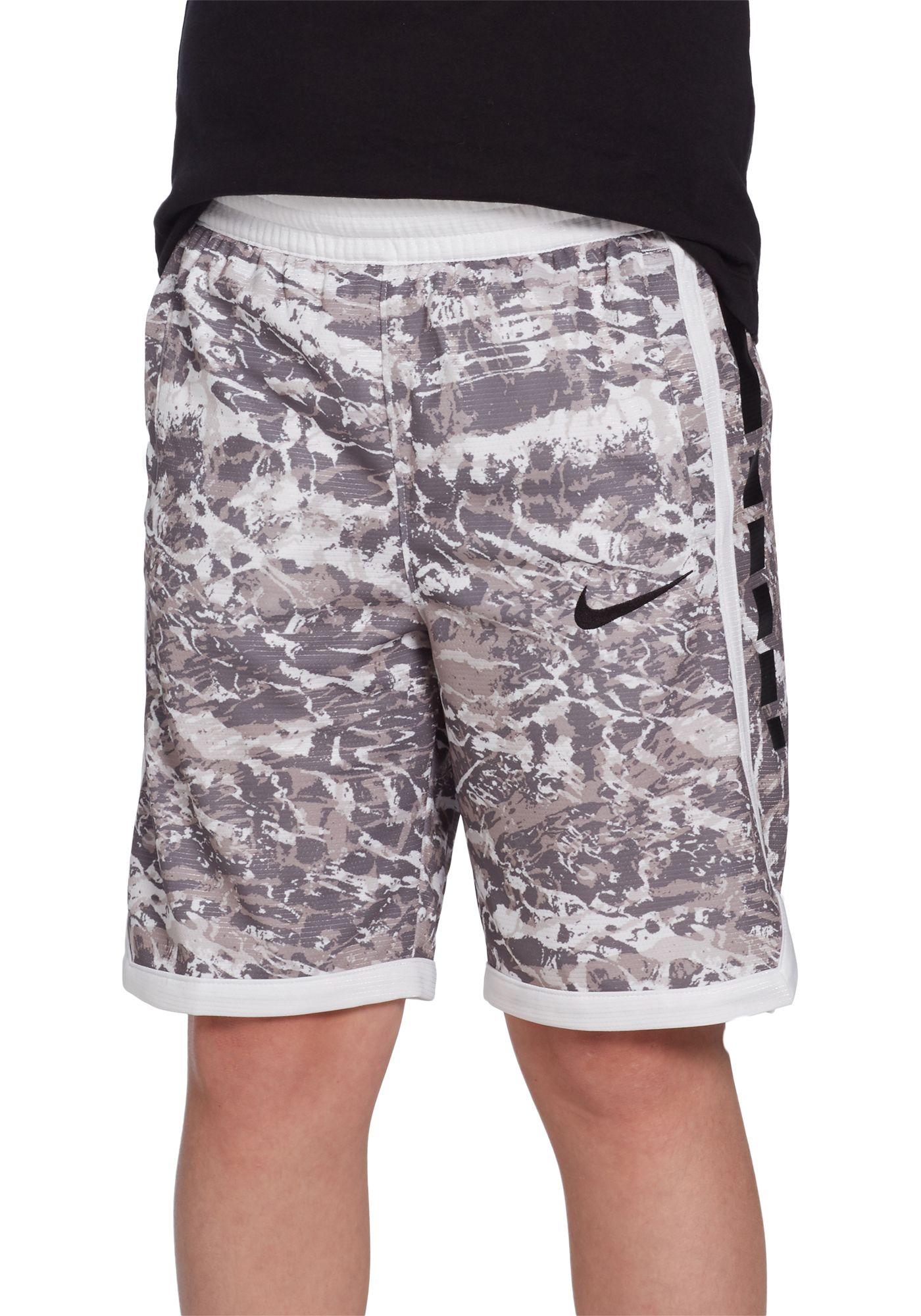 Nike Boys' Dri-FIT Elite Printed Basketball Shorts