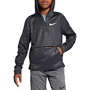Nike Boys' Therma Embossed 1/2 Zip Hoodie