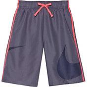 Nike Boys' Macro Logo Diverge Swim Trunks