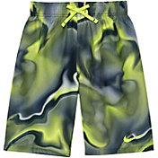 Nike Boys' Amp Axis Breaker Swim Trunks