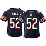 Nike Boys' Chicago Bears Khalil Mack #52 Navy Game Jersey
