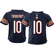 Nike Boys' Chicago Bears Mitchell Trubisky #10 Navy Game Jersey