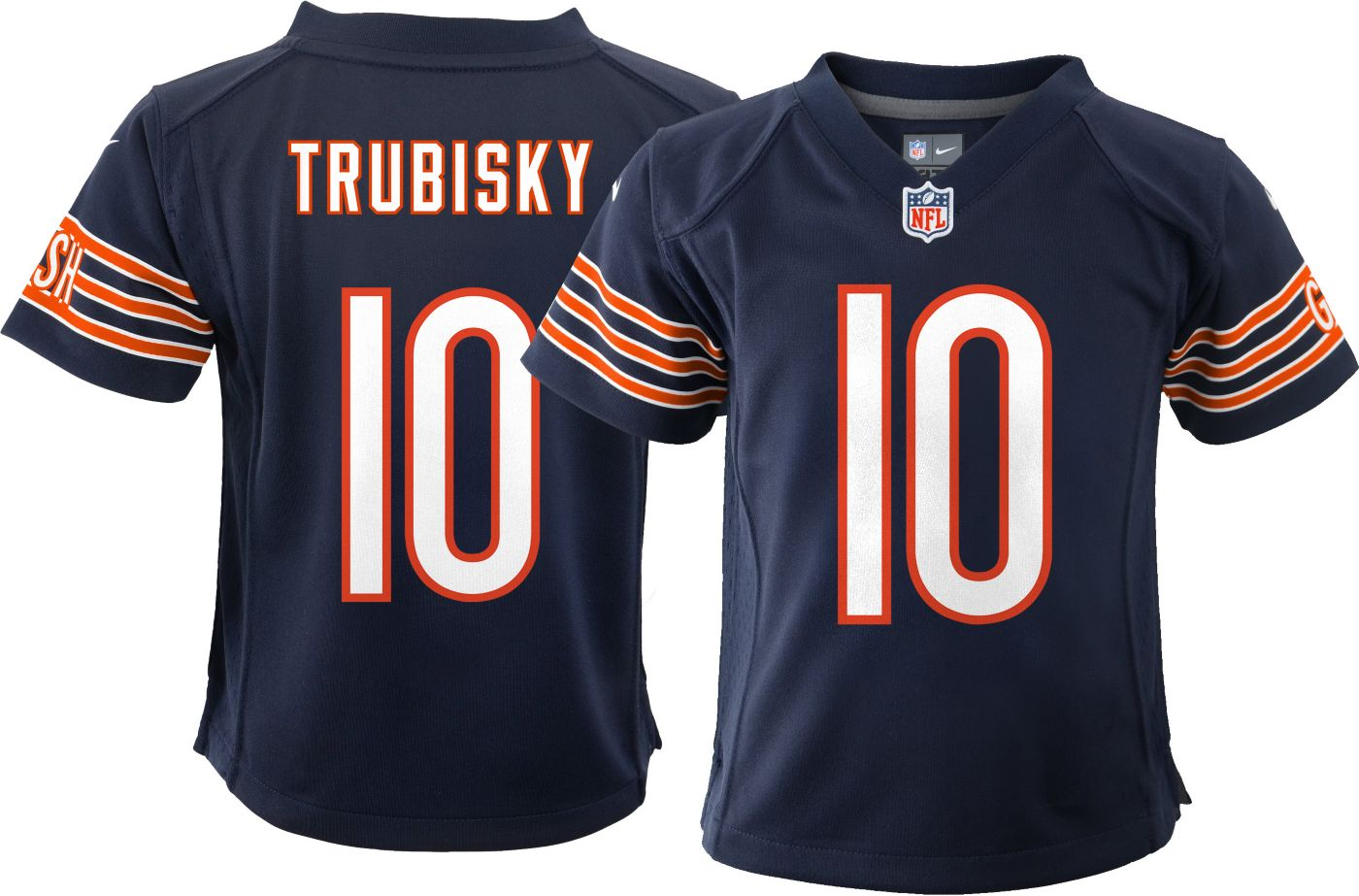 Nike Boys' Home Game Jersey Chicago Bears Mitchell Trubisky #10