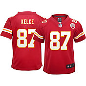 Nike Boys' Home Game Jersey Kansas City Chiefs Travis Kelce #87