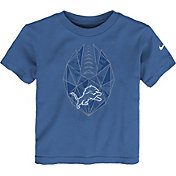 Nike Boys' Detroit Lions Football Icon Blue T-Shirt