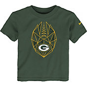 Nike Boys' Green Bay Packers Football Icon Green T-Shirt