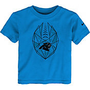 Nike Boys' Carolina Panthers Football Icon Black T-Shirt