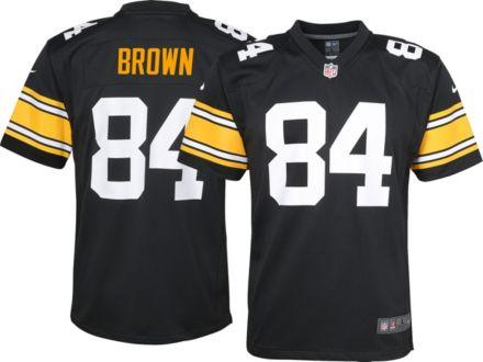efa7201fe Nike Boys  39  Alternate Game Jersey Pittsburgh Steelers Antonio Brown  84
