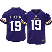 Nike Boys' Home Game Jersey Minnesota Vikings Adam Thielen #19