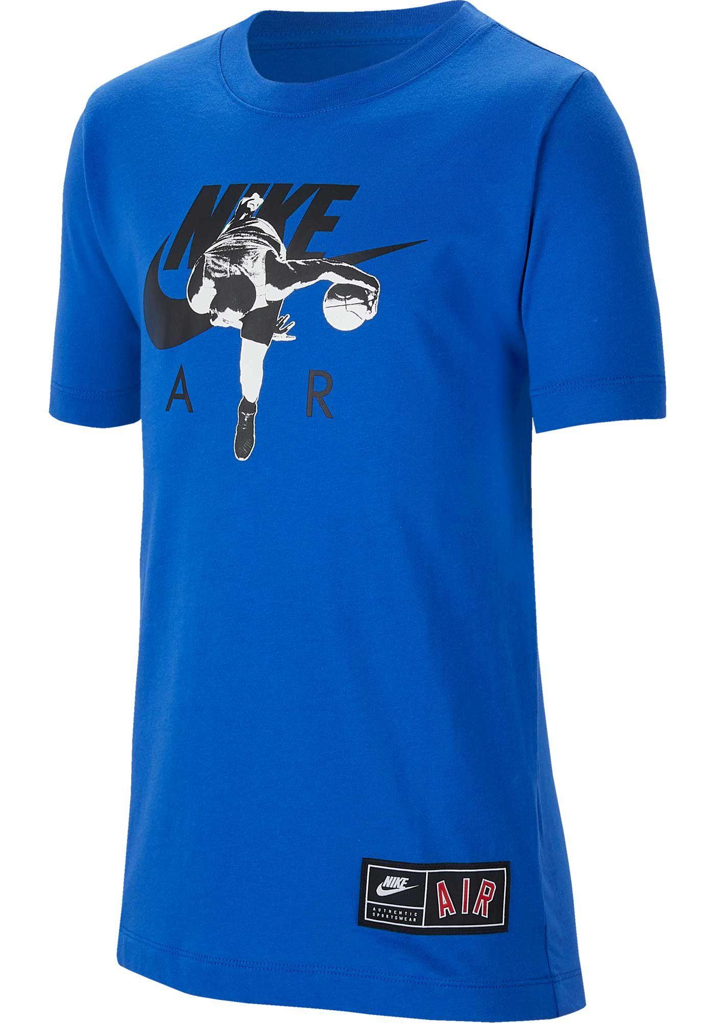 Nike Boys' Sportswear Air Photo Real Graphic T-Shirt