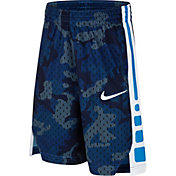 Nike Boys' Dry Elite Camo Print Basketball Shorts