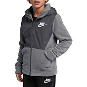 Nike Boys' Sportswear Polar Fleece Full-Zip Hoodie