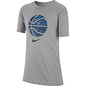 Nike Boys' Sportswear Basketball Print Fill Graphic Tee