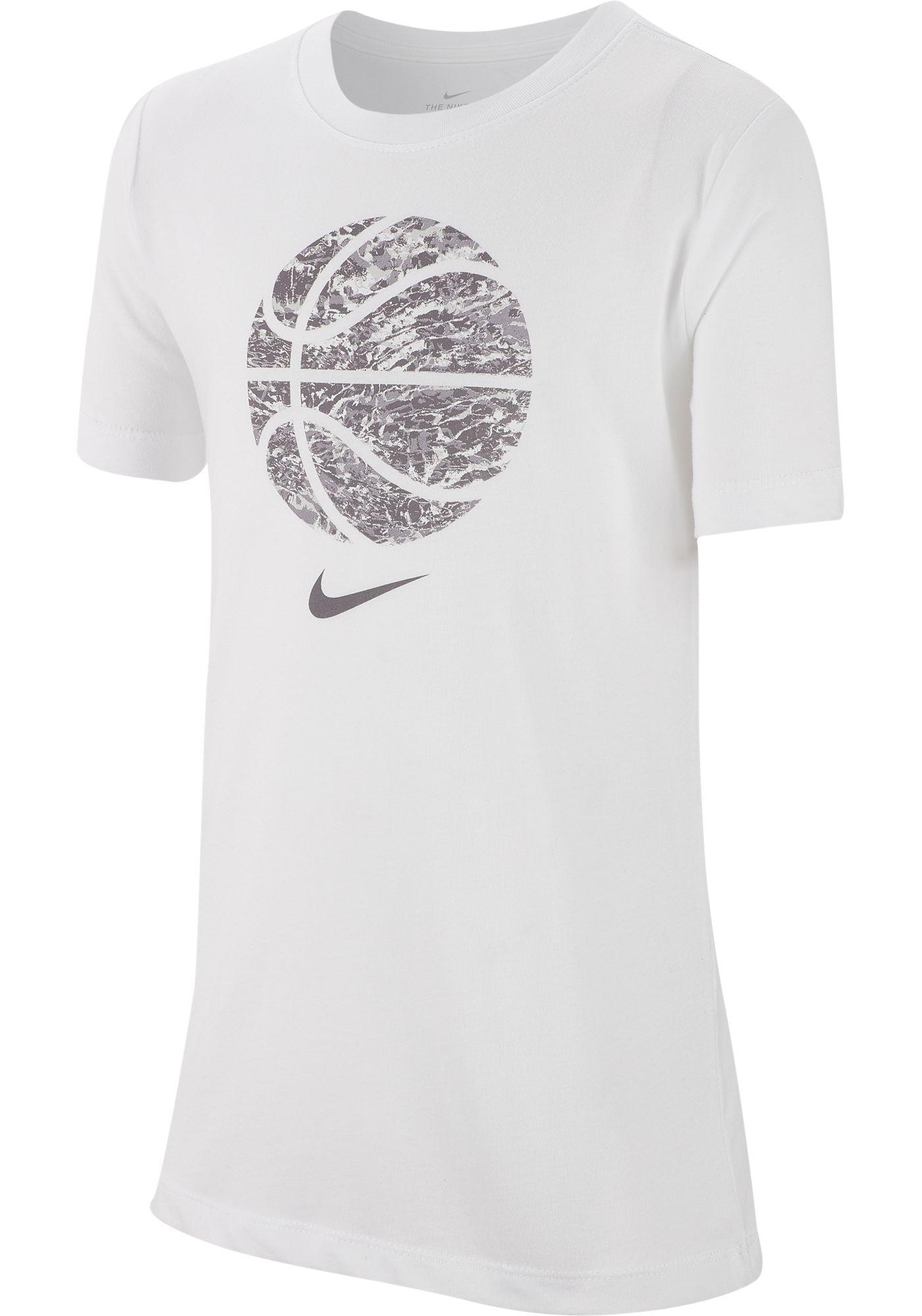 Nike Boys' Sportswear Basketball Print Fill Graphic Tee