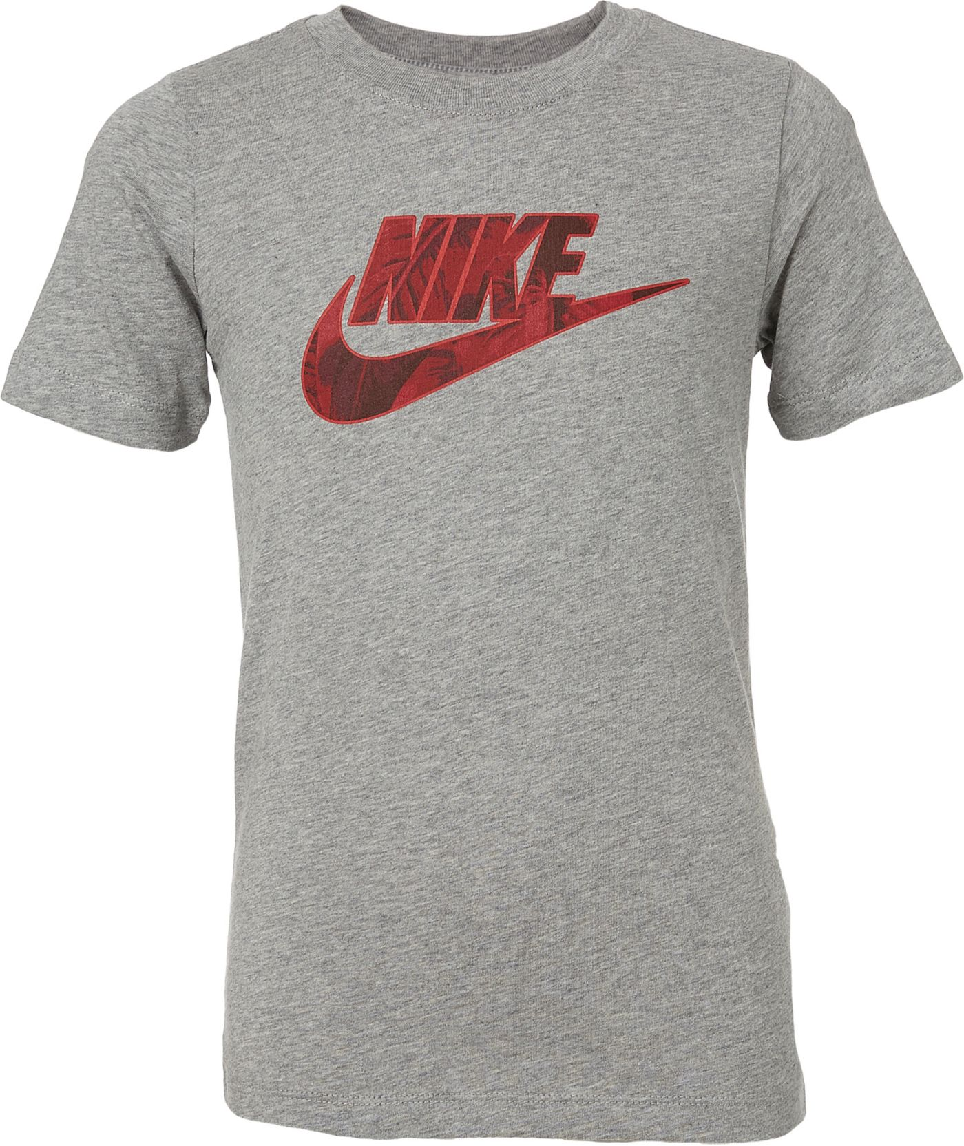 Nike Boys' Sportswear Futura Fill Palm Graphic Tee