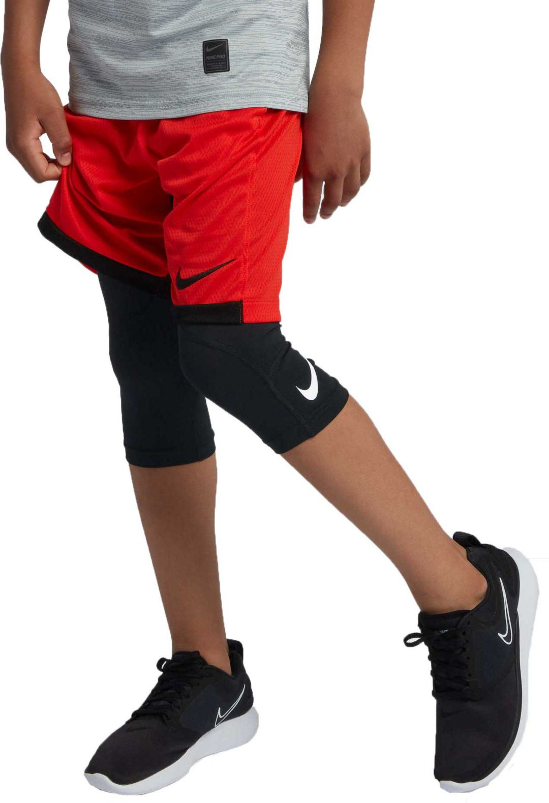 5f8ede3290 Nike Boys' Pro 3/4 Length Compression Tights | DICK'S Sporting Goods