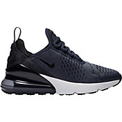 Nike Kids' Grade School Air Max 270 Shoes in Midnight Navy