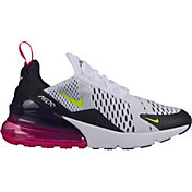 san francisco 08151 1f40b Product Image · Nike Kids' Grade School Air Max 270 Shoes in  White/Green/Pink