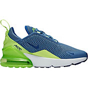 lowest price ef043 cdb3b Product Image · Nike Kids  Preschool Air Max 270 Shoes in Blue Green